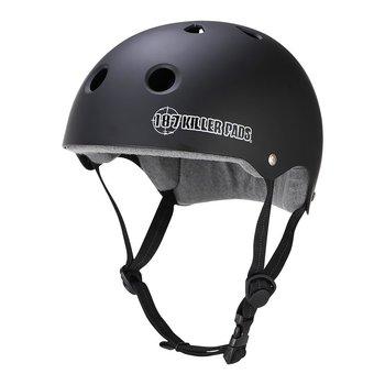 187 Killer Pads Pro Skate Helmet Sweatsaver Liner Black Matte
