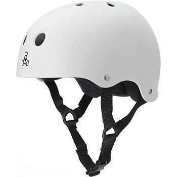 Triple 8 Sweatsaver Helmet White