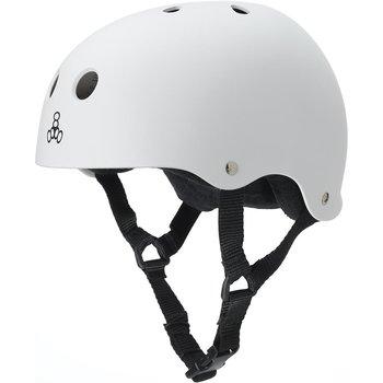 Triple 8 Sweatsaver Helmet White
