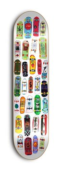 Skate Mental Skateboards Eric Koston Collage 8.5""