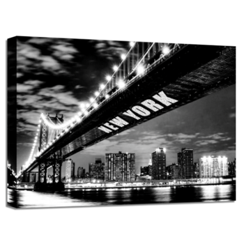 TAVLA CANVAS NEW YORK BRIDGE GLITTER
