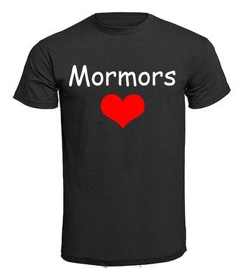 Barn T-shirt - Mormors hjärta