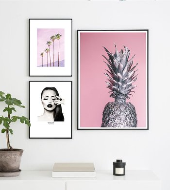 Pink pineapple 2  - Poster