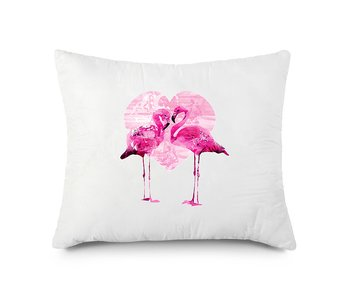FLAMINGO HEART KUDDFODRAL