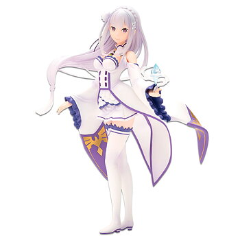 Re:Zero Starting Life in Another World Story Is To Be Continued Emilia Ichibansho figure 19 cm