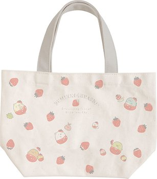 Sumikko Gurashi Kissa Sumikko de Strawberry Fair Mini Tote Bag