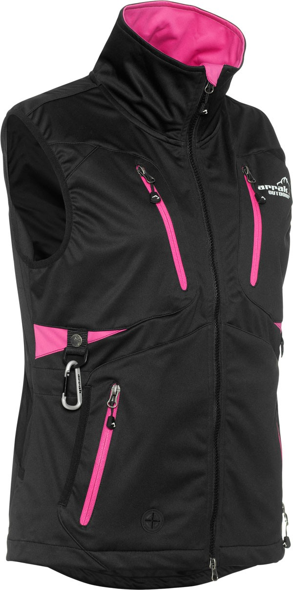 Arrak Outdoor Acadia Väst Lady SvartRosa