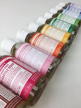 Paket för huden, tvålar med olika dofter