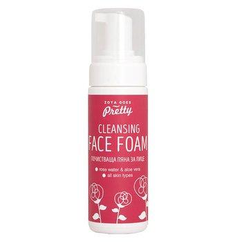 Ansiktsrengöring - Cleansing Face Foam Rose Water & Aloe Vera, 150 ml