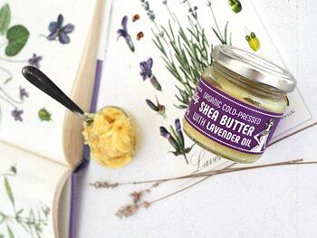 Hudkräm - Shea Butter & Lavender Oil, 60 g