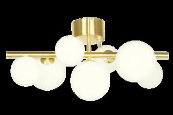 Plafond Molekyl Vit/Mässing - Aneta