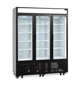 Läskkyl FSC1600H, 3 hängda dörrar