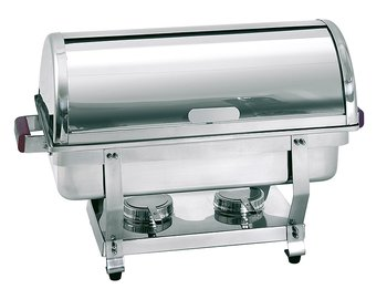 Rolltop Chafing Dish GN 1/1, D65, Trä htg