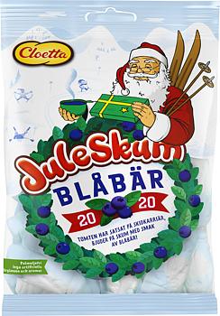 Juleskum Blåbär