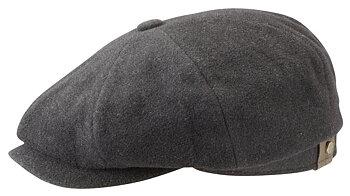 Hatteras Earflap Flat Cap Wool/Cashmere [Stetson]