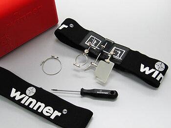 Pannband med lens hållare -komplett