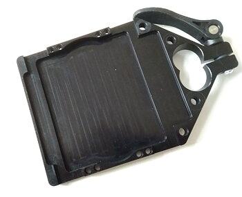 Ammohållare till stativ -  alu-svart, lutande