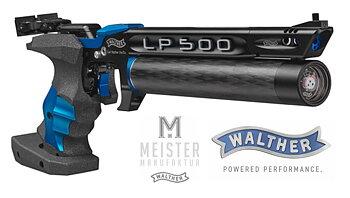 """Meister Manufaktur"" Match luftpistole / Blue - Walther LP500"