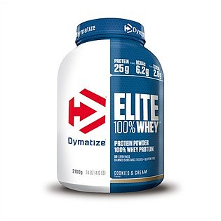 Dymatize Elite 100% Whey, 2,1kg. Rich Chocolate