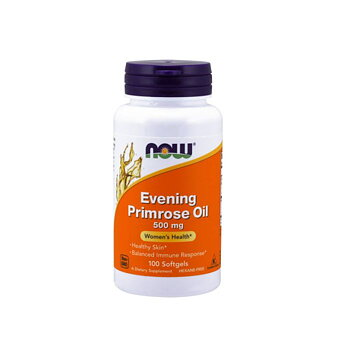 NOW Primrose Oil, 500mg. 100 kapsl.