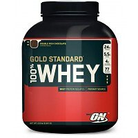 Optimum Nutrition 100% Whey Gold Standard, 2,26kg. Double Rich Chocolate
