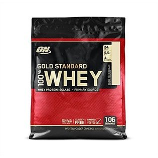 Optimum Nutrition 100% Whey Gold Standard, 3,16kg. Double Rich Chocolate