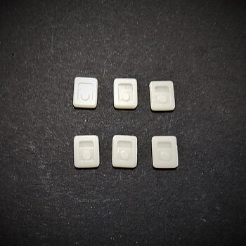 Klafflås infällbar till verktygsskåp  4st