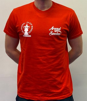 ARSENAL SWEDEN FA CUP WINNERS TEE 2020