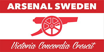 ARSENAL SWEDEN-FLAGGA