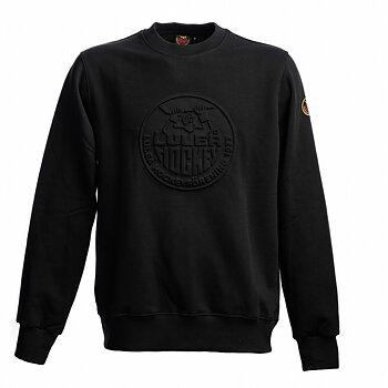 Sweatshirt Embossing - Svart