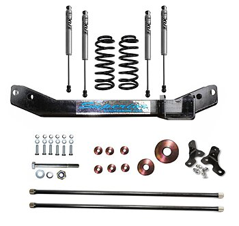 SUPERIOR ENGINEERING LIFT KIT 40MM  - TOYOTA LAND CRUISER LC100 IFS 98-07
