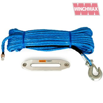 WINCHMAX 150ft / 45m Synthetic Winch Rope and Hawse