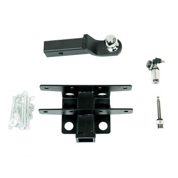 "OFD TRAILER HITCH KIT DROP 2"" - Jeep JK, JKU, JL & JLU"