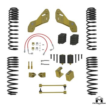 "METALCLOAK 2.5"" Overland Touring Lift Kit - Jeep JKU"