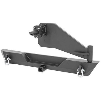 ROUGH COUNTRY Rear Trail bumper  w. Tirecarrier - Jeep JL/U