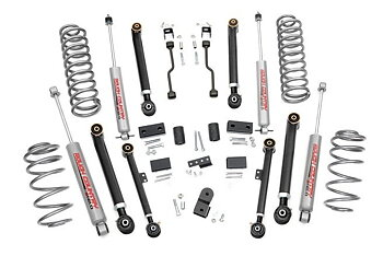 ROUGH COUNTRY X-FLEX LIFT KIT SUSPENSION 4""