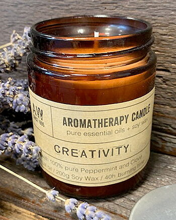 Creativity - Aromatheraphy Candle