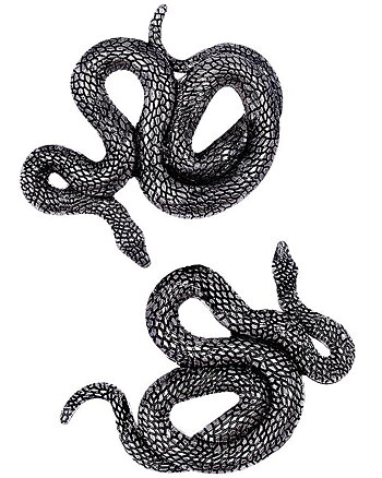 Serpents - Hair Clips