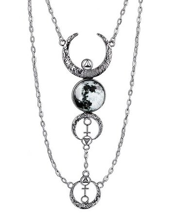 Full Moon Chains - Necklace