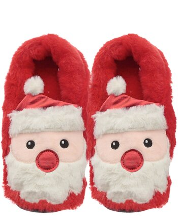 Christmas Santa - Heat Pack Slippers