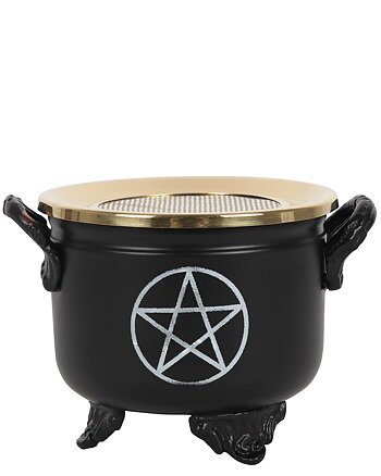 Pentagram Cauldron - Herbs & Resin Burner