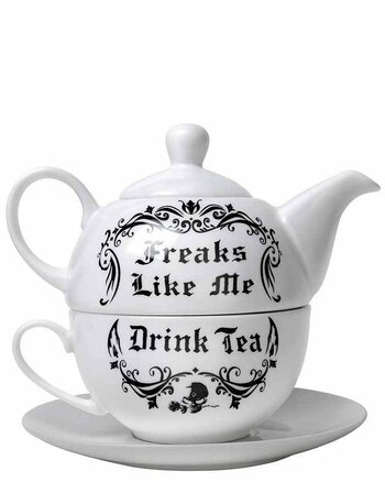 Freaks Like Me - Tea Set