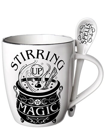 Stirring Up Magic - Mugg och Sked
