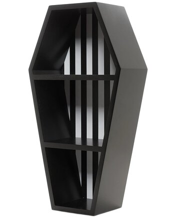 Stripes Coffin - Wall Shelf