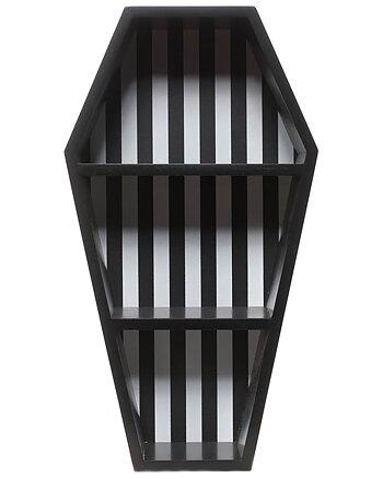 Stripes Coffin - Wall Shelf