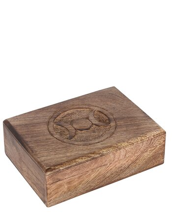 Triple Moon - Wooden Box