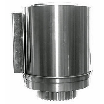 veke-pappershållare - rostfritt stål