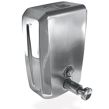 Tvålpump - rostfritt stål