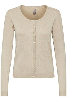 Culture Annemarie Drop Cardigan Warm Sand Melange