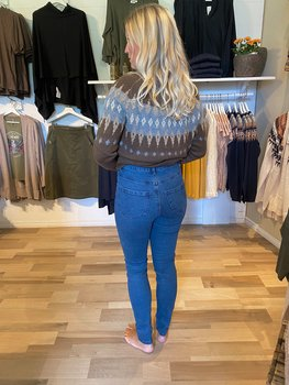 Saint Tropez Jeans Superstretch Ulla Blue Denim